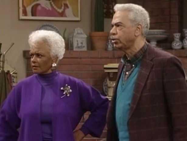 "Ethel Ayler i ""Cosby""."