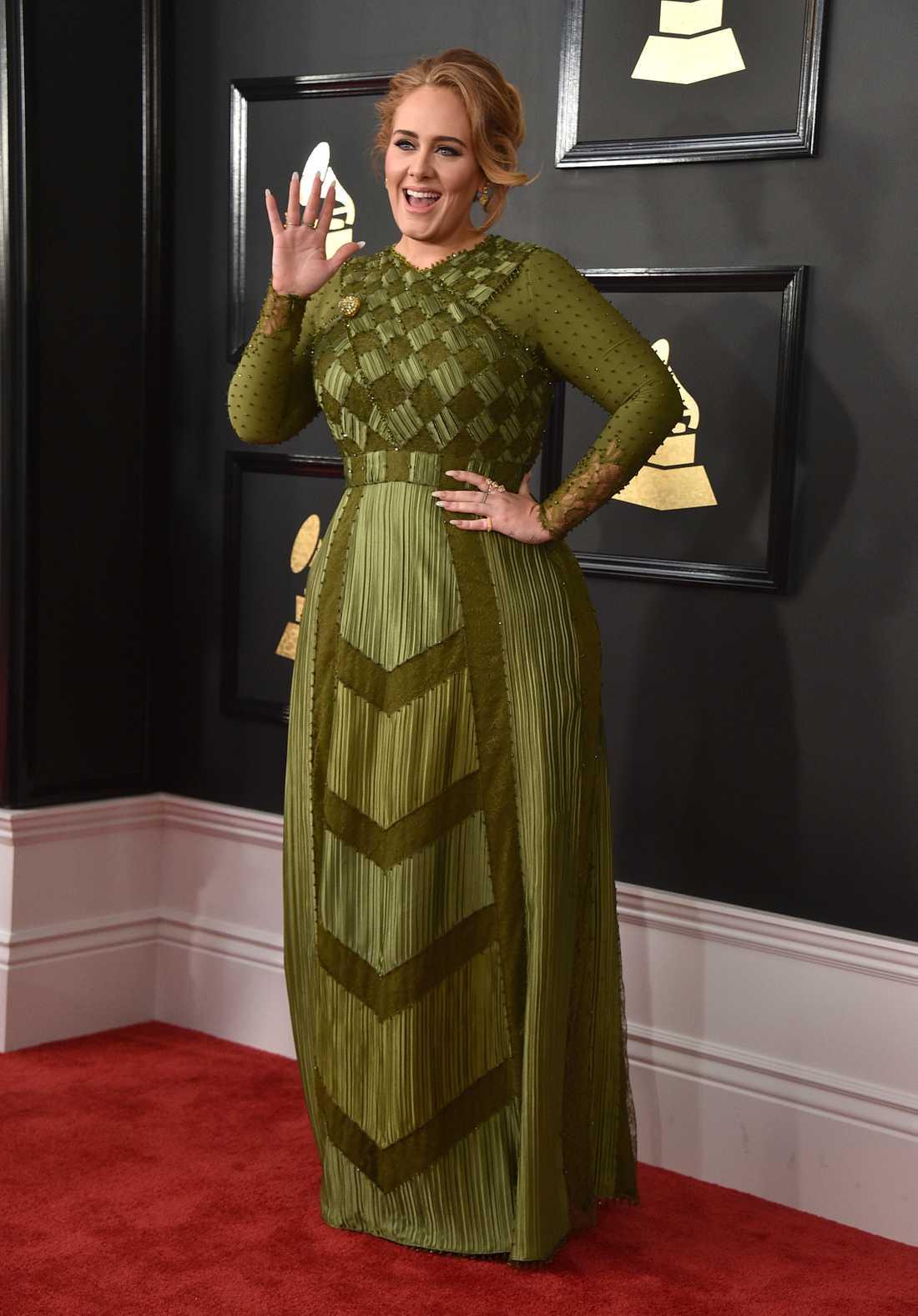 """Årets popalbum 2016 stod Adele för, enligt Grammyjuryn. Max Martin och Shellback har jobbat med hennes """"25""""."""