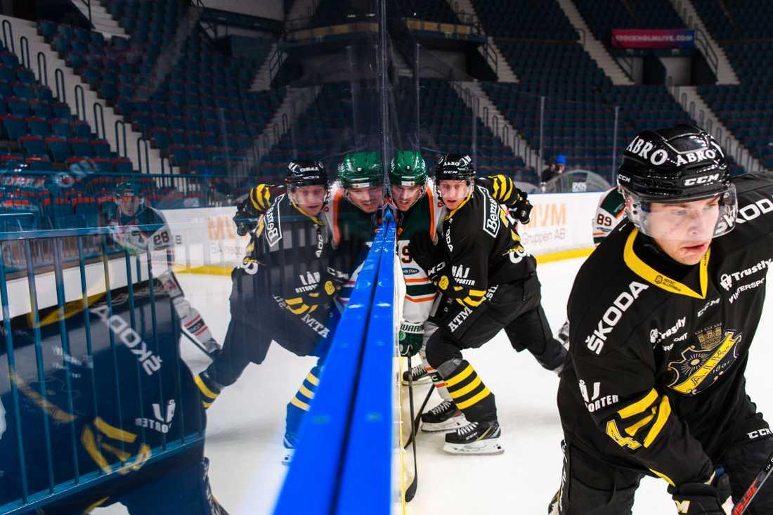 Bekräftat fall av covid-19 i AIK Hockey.