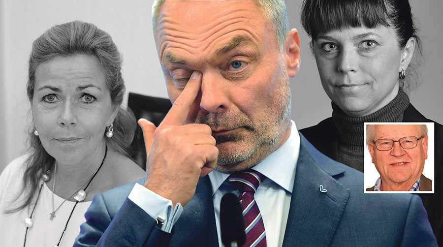 """Det är dags att """"åsiktsbomba"""" partiledning och partistyrelse så att Cecilia Wikström förblir Liberalernas förstanamn på årets EU-lista, skriver Esse Petersson."""