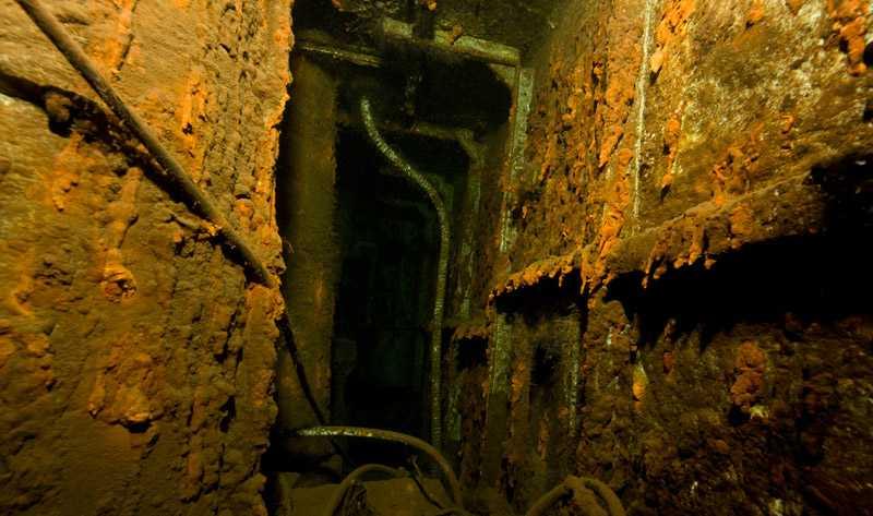 Ubåten har legat på havets botten i flera decennier.