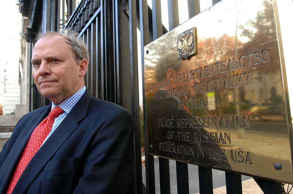 Professor Anders Åslund, tidigare ekonomipolitisk rådgivare åt Boris Jeltsin.