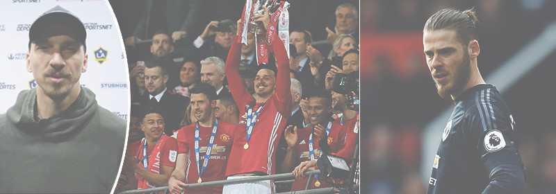 Zlatan tycker att David de Gea är årets spelare.