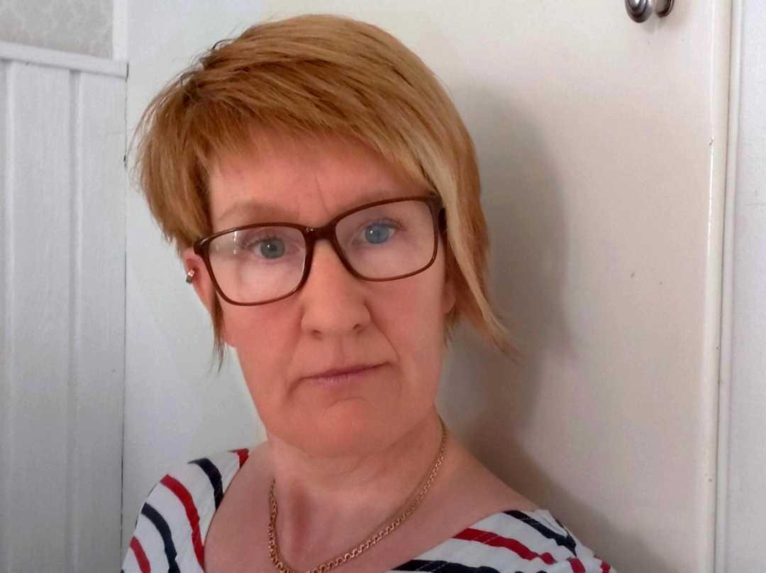 Ann-Kristin Georgson på Kvinno- och tjejjouren i Kalix