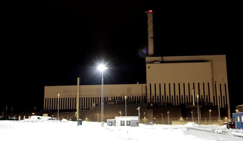 """""""Arbetet med att utveckla alternativ till kärnkraften måste prioriteras. Sverige kan leda det arbetet. Om vi vill"""". På bilden: Kärnkraftverket i Oskarshamn."""