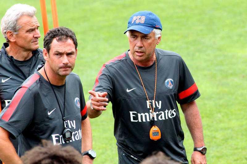 Carlo Ancelotti bygger ett nytt storlag av Paris Saint Germain.