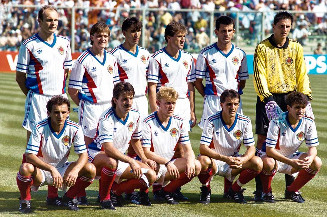 Jugoslavien var redan på plats i Sverige när de fick beskedet av Johansson.