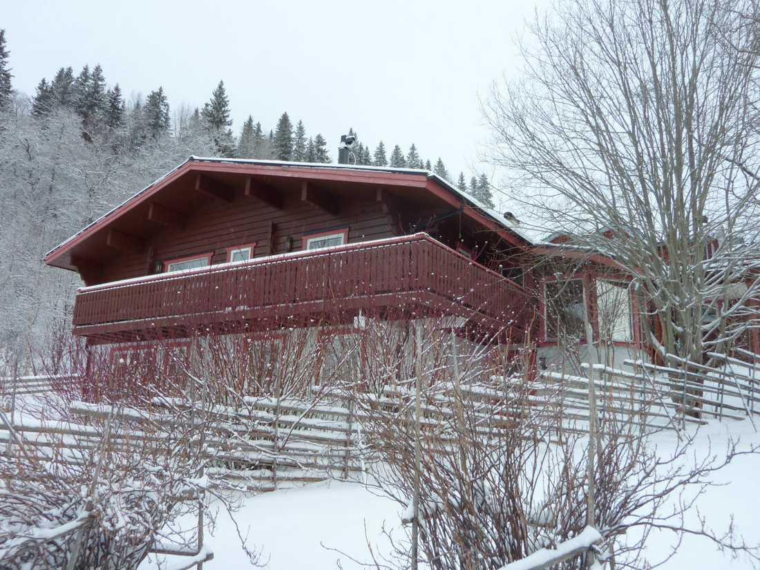 """8 500 000 kronor """"Björnvillan"""" i Åre."""