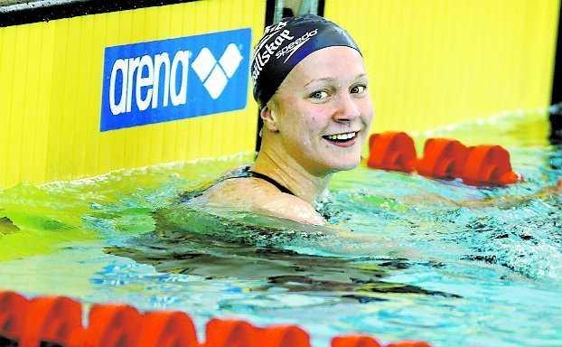 Sarah Sjöström, Sverige, 14 år.