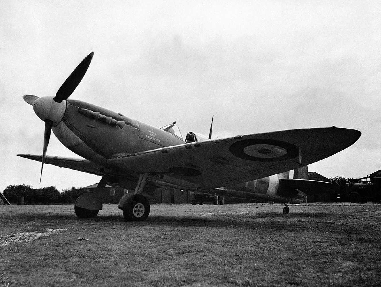 Spitfireplanen hade en stor del i försvaret av Storbritannien under tyskarnas luftattacker.