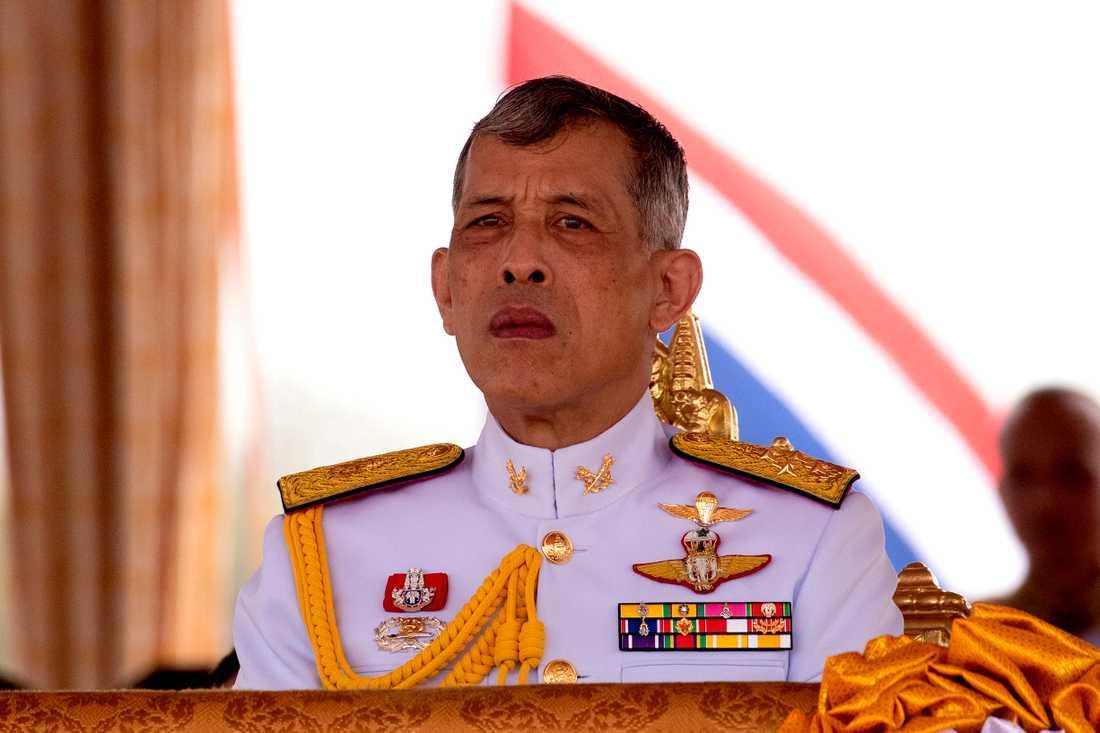 Thailändska kungen Maha Vajiralongkorn, 67, även kallad Rama X.