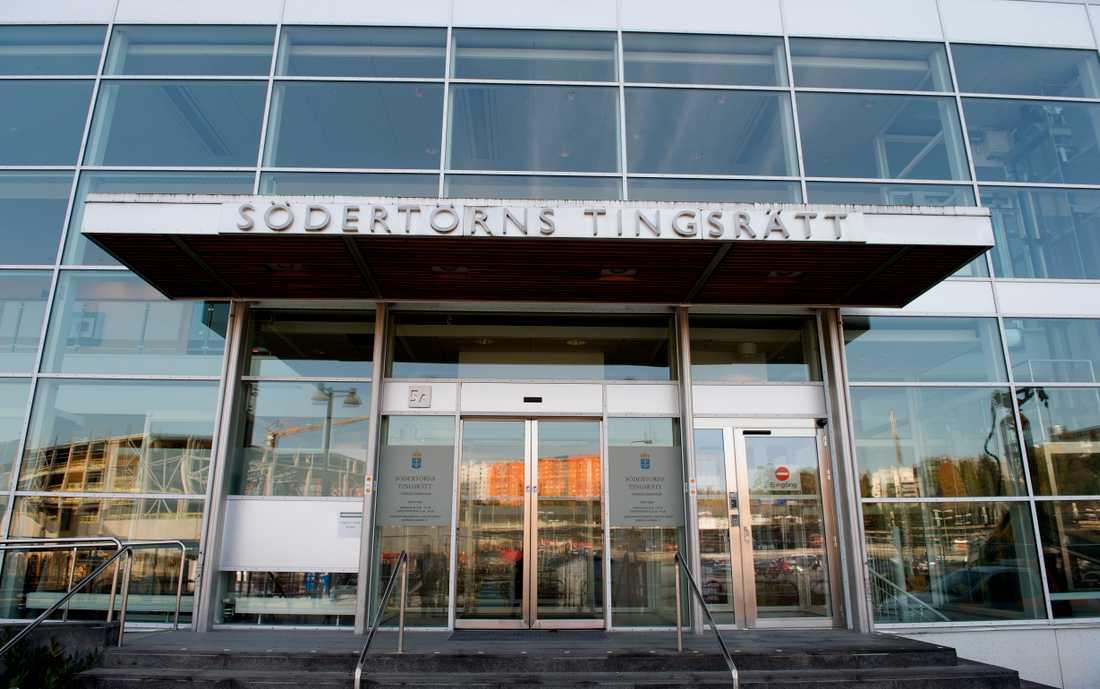 Målet ligger hos Södertörns tingsrätt, men huvudförhandlingen hålls i säkerhetssalen i Stockholms tingsrätt. Arkivbild.