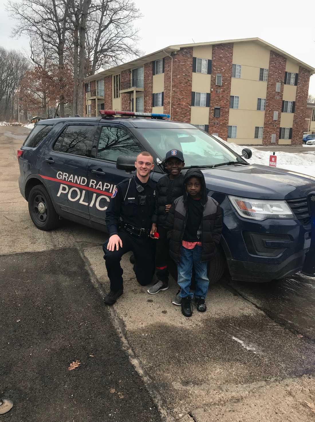 Nu vill Thomas Daniel bli polis.