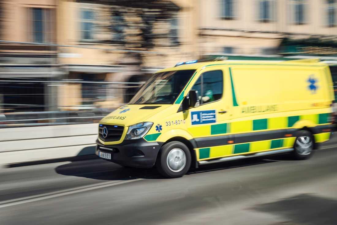 En man omkom i en lastbilsolycka på Hisingen i Göteborg på tisdagen. Arkivbild.