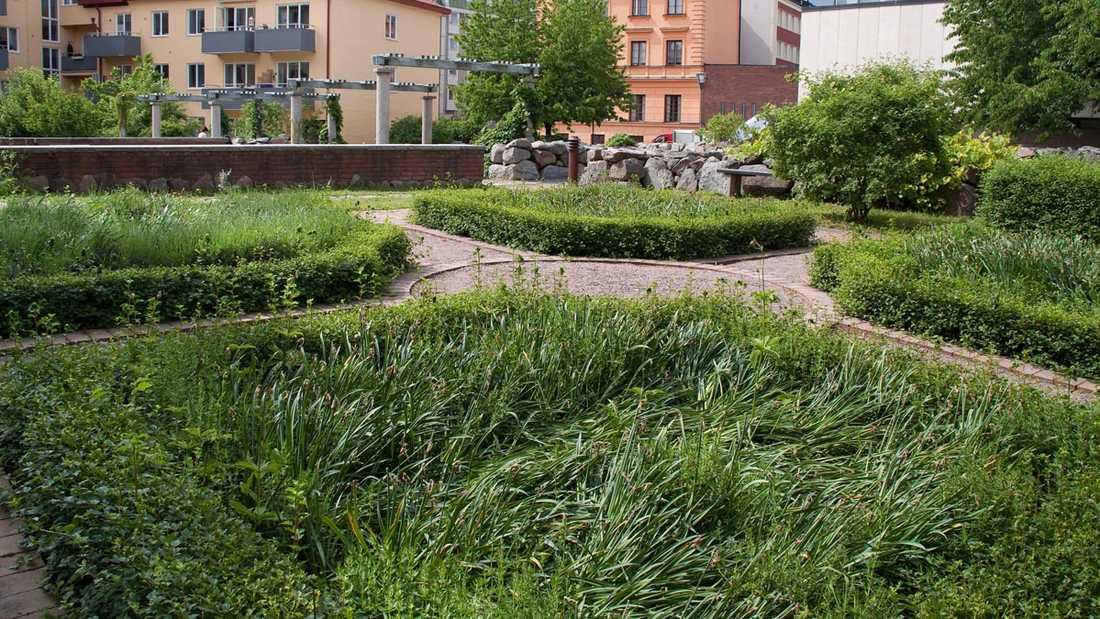Klosterparken ska nu bli lekpark.