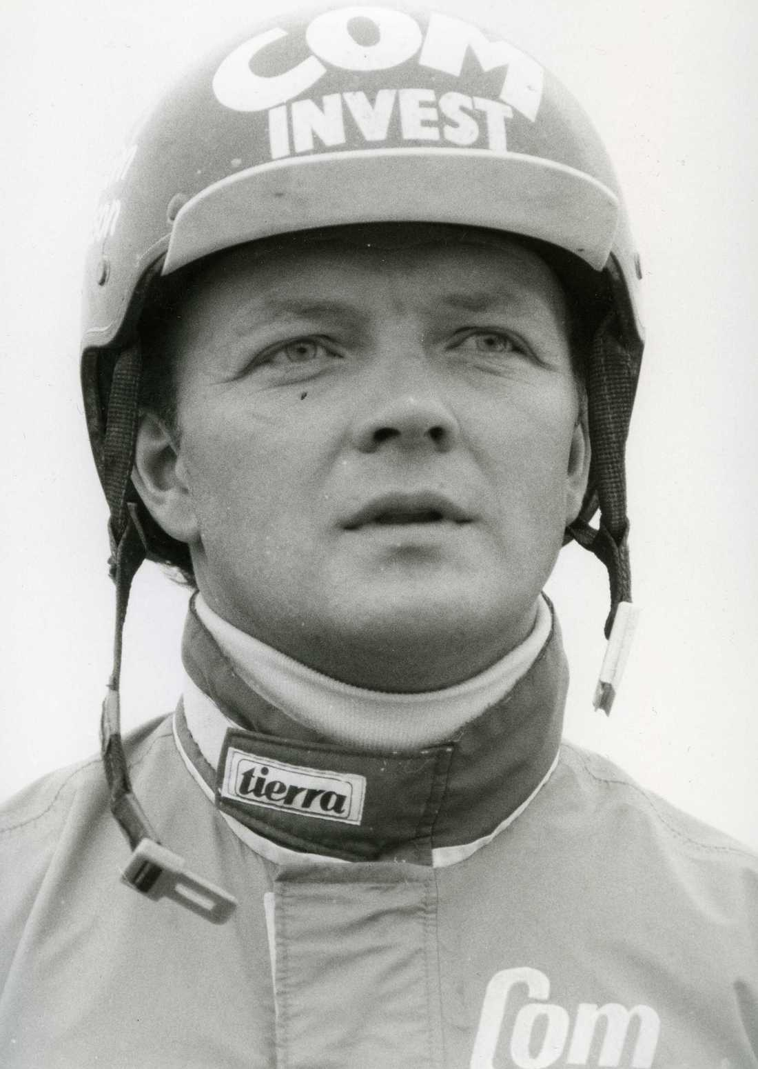 En ung Torbjörn Jansson.