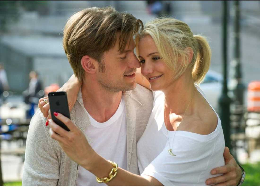 """Nikolaj Coster-Waldau och Cameron Diaz i """"The other woman""""."""