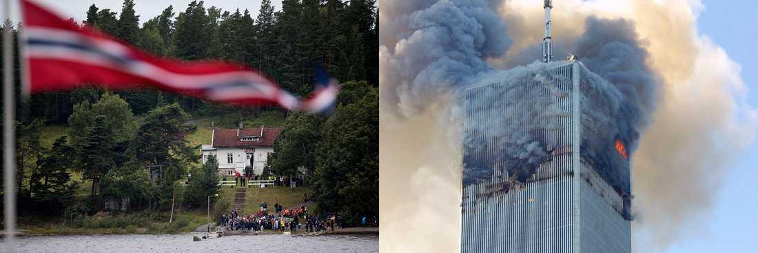 Två attentat som satt prägel på samtiden.
