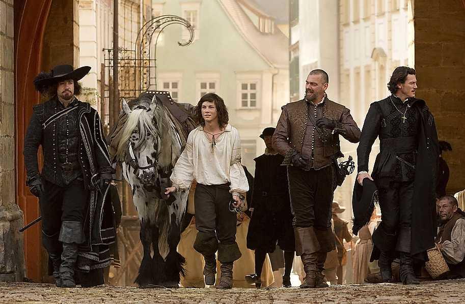"""""""The three musketeers"""", premiär 14 oktober."""