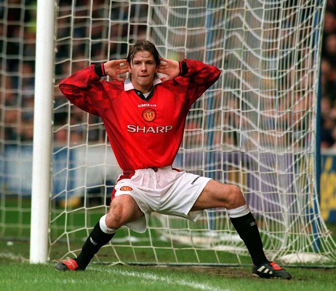 Firar 1-0-målet mot Chelsea i FA-cupen i januari 1999.