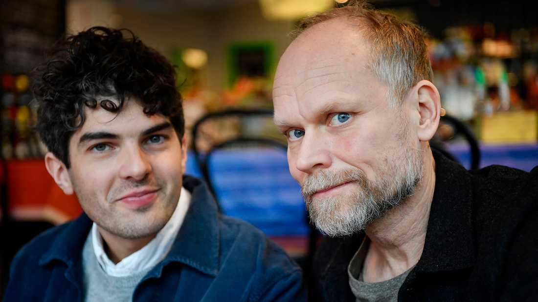 Daniel Hallberg och Kristian Luuk.