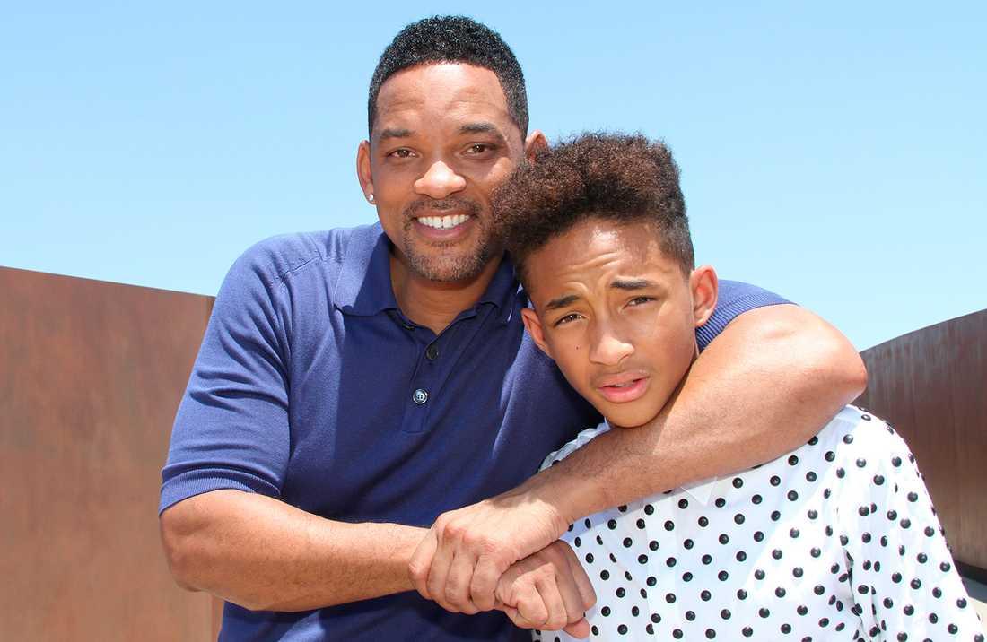 Will och sonen Jaden Smith.