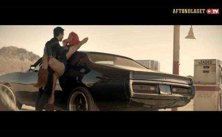 En scen ur Darins video som du kan se på aftonbladet.se.
