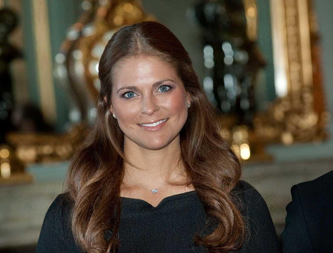Prinsessan Madeleine är hemma från USA.