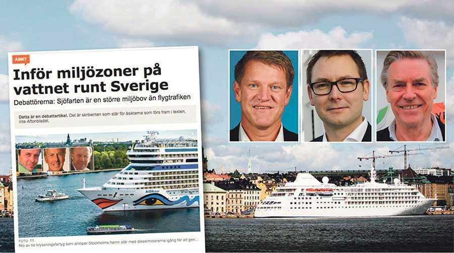 Det som är nödvändigt är att påverka all sjöfart och då sjöfarten är global i sin natur måste regelverken också vara globala, skriver Rikard Engström, Fredrik Larsson och Henrik Börjesson.