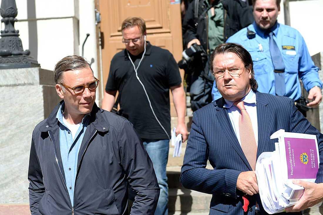 Advokaten Per Liljekvist har bland annat försvarat Mikael Persbrandt.