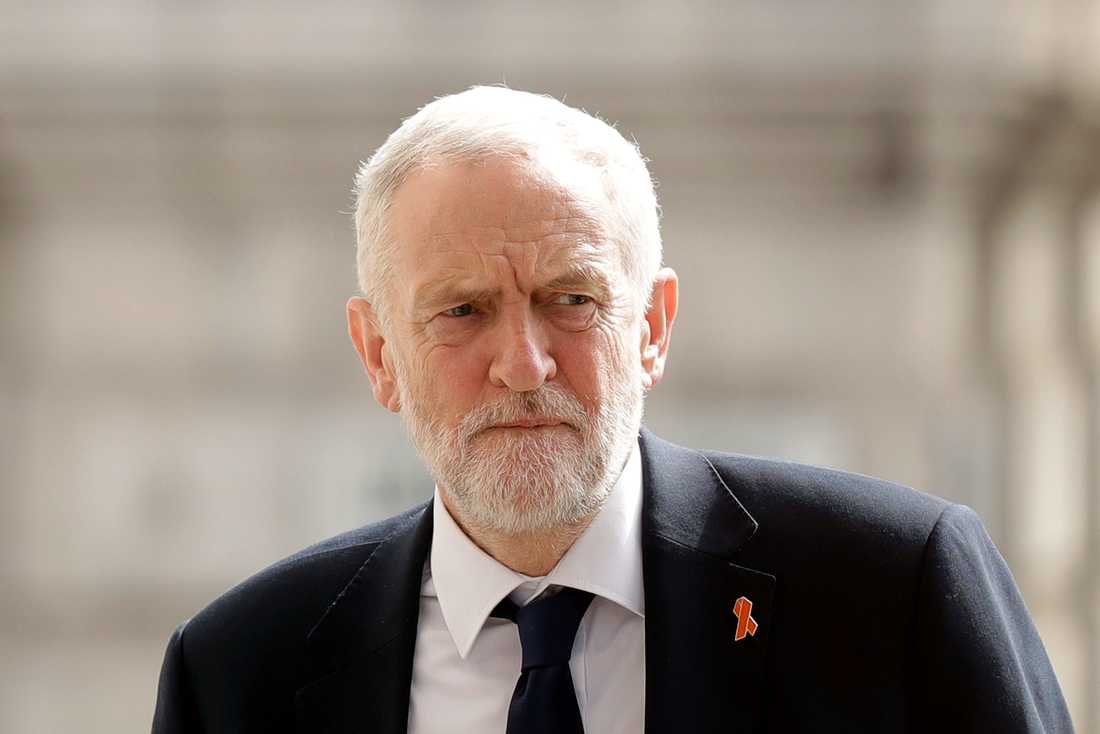 Labours partiledare Jeremy Corbyn. Arkivbild.