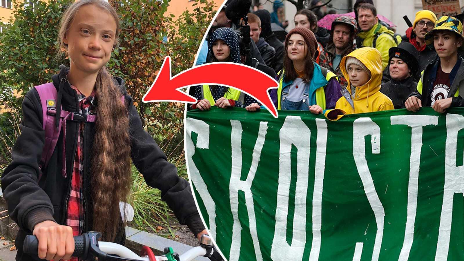 Efter sabbatsåret – Greta Thunberg tillbaka i skolan igen