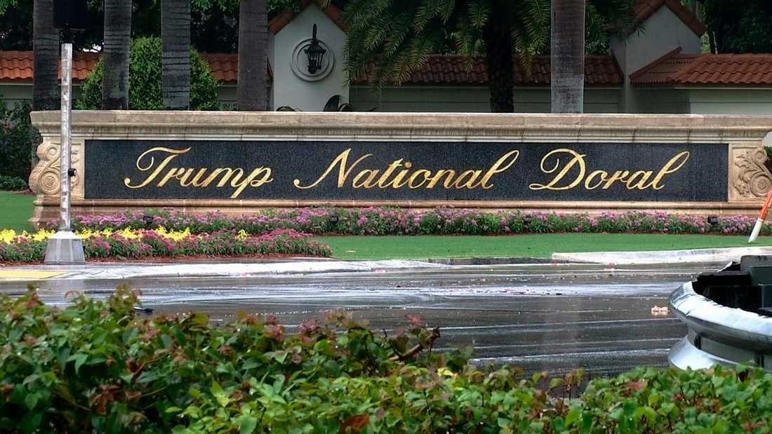 National Doral Miami där G7-mötet ska hållas.