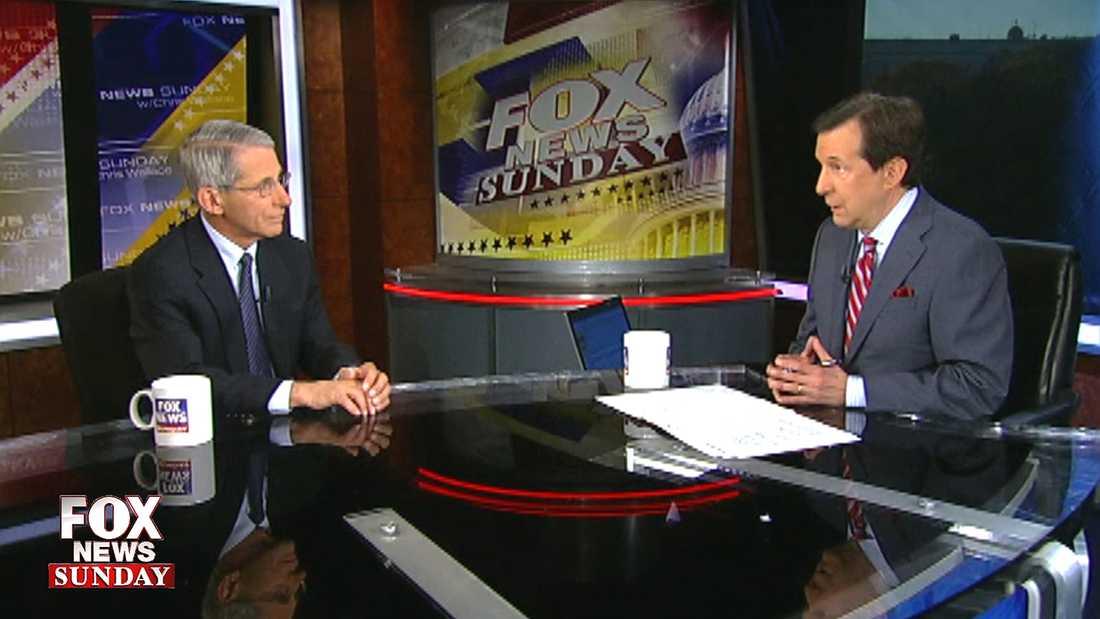 Tv-ankaret Chris Wallace i Fox News.
