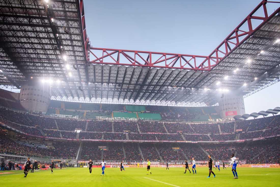 Legendariska San Siro – eller Giuseppe Meazza – rivs inför OS 2026.