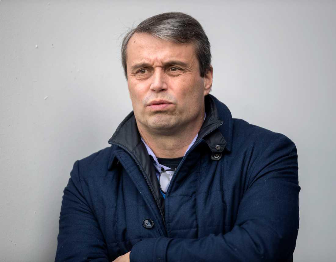 Östersunds FK:s tidigare ordförande Daniel Kindberg. Arkivbild.