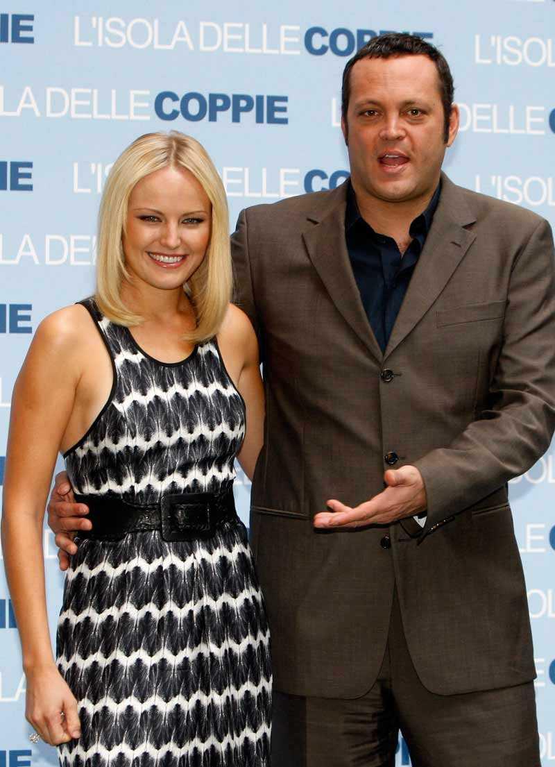 Vince Vaughn tillsammans med Malin Åkerman.