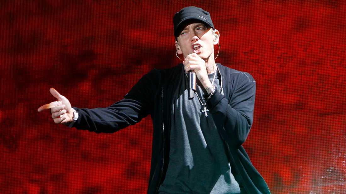 Eminem är bland de artister som drabbats...