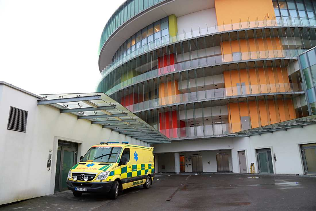 Akutmottagningen på Skånes universitetssjukhus i Malmö.