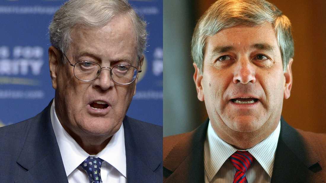 Bröderna David och Charles Koch köpte i flera decennier stort politiskt inflytande i USA. Nu har Sverige fått sin motsvarighet i bröderna af Jochnick.
