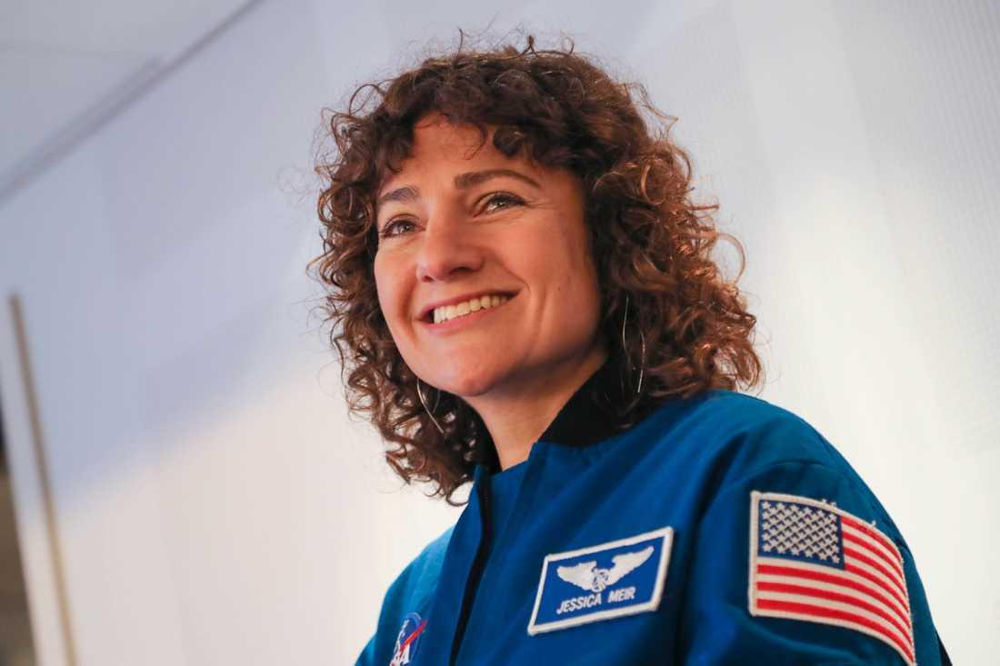 I höst kommer Jessica Meir bli den första svenska kvinnan i rymden. Meir, som är född och uppvuxen i USA, har en svensk mamma och har både svenskt och amerikanskt medborgarskap. Arkivbild.