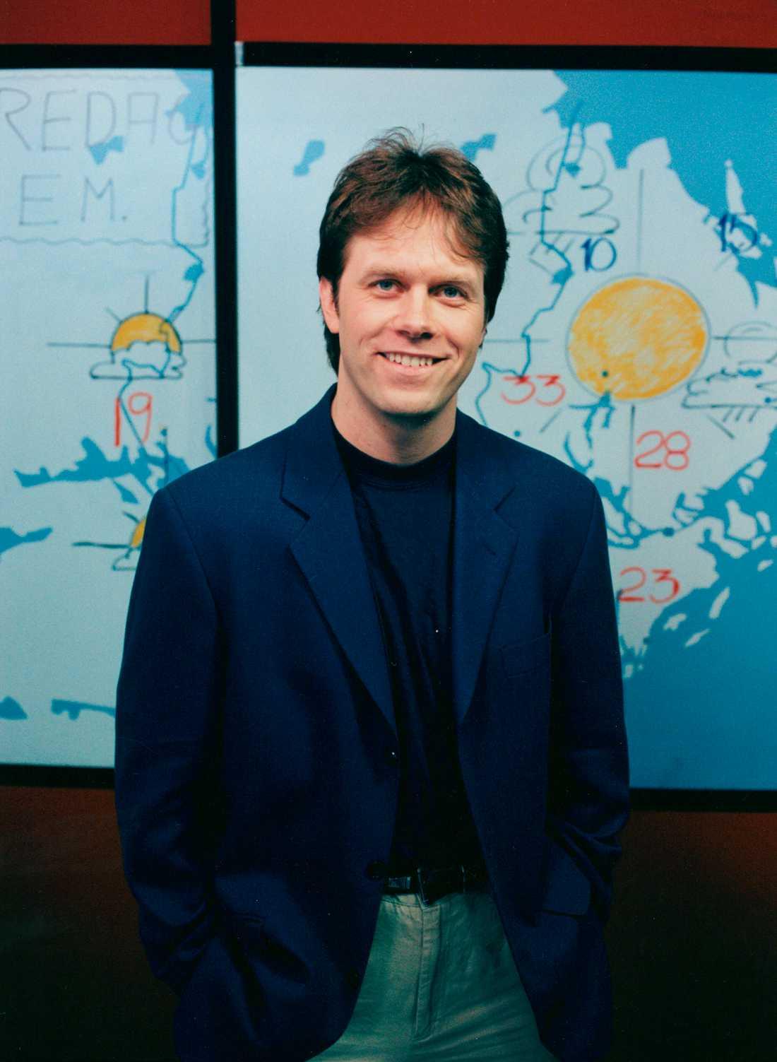 Pär Holmgren arbetade tidigare som meterologen på SVT.