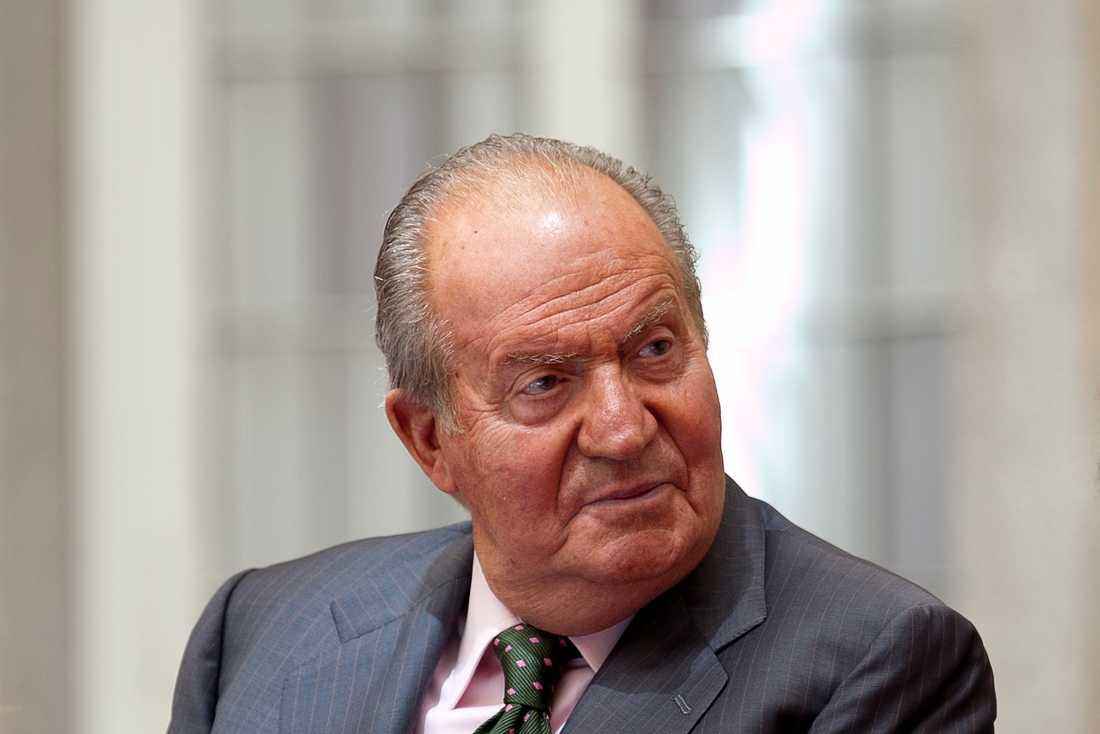 Spaniens förre kung Juan Carlos. Arkivbild.