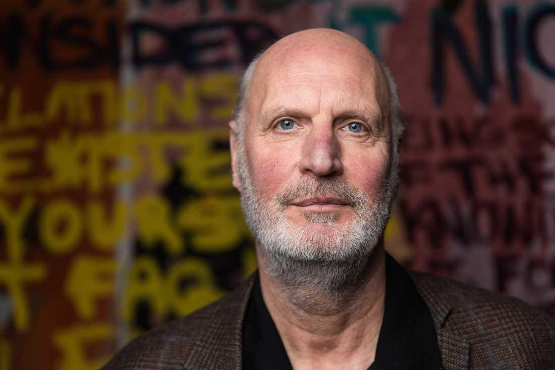 """Ståhl Collection är en hyllning till Mikael Ståhls vän Sten Eriksson. """"Jag har honom att tacka för mitt konstintresse, det var han som utbildade mig"""", säger Mikael Ståhl. Pressbild."""
