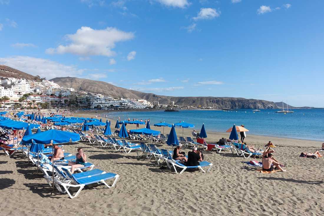Teneriffa, Spanien – ett av länderna som UD häver reseavrådan för.