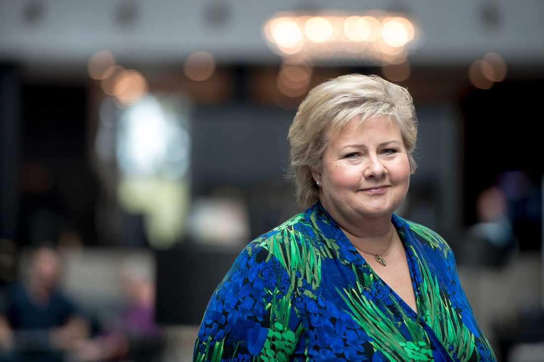 Erna Solberg, statsminister i Norge