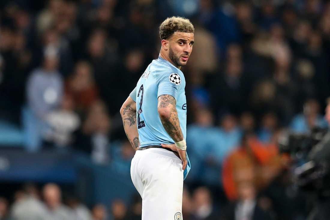 Manchester Citys Kyle Walker
