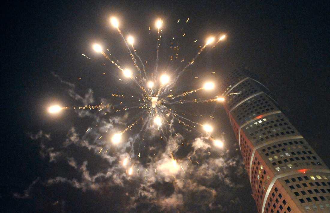Nyår i Malmö 2009.