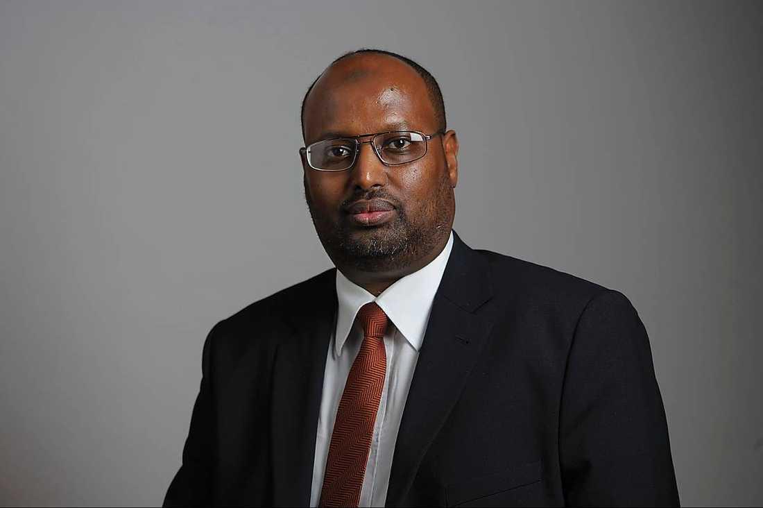 KONTROVERSIELLRiksdagsmannen Abdirizak Waberi (M) var ordförande för Islamiska förbundet före Omar Mustafa.