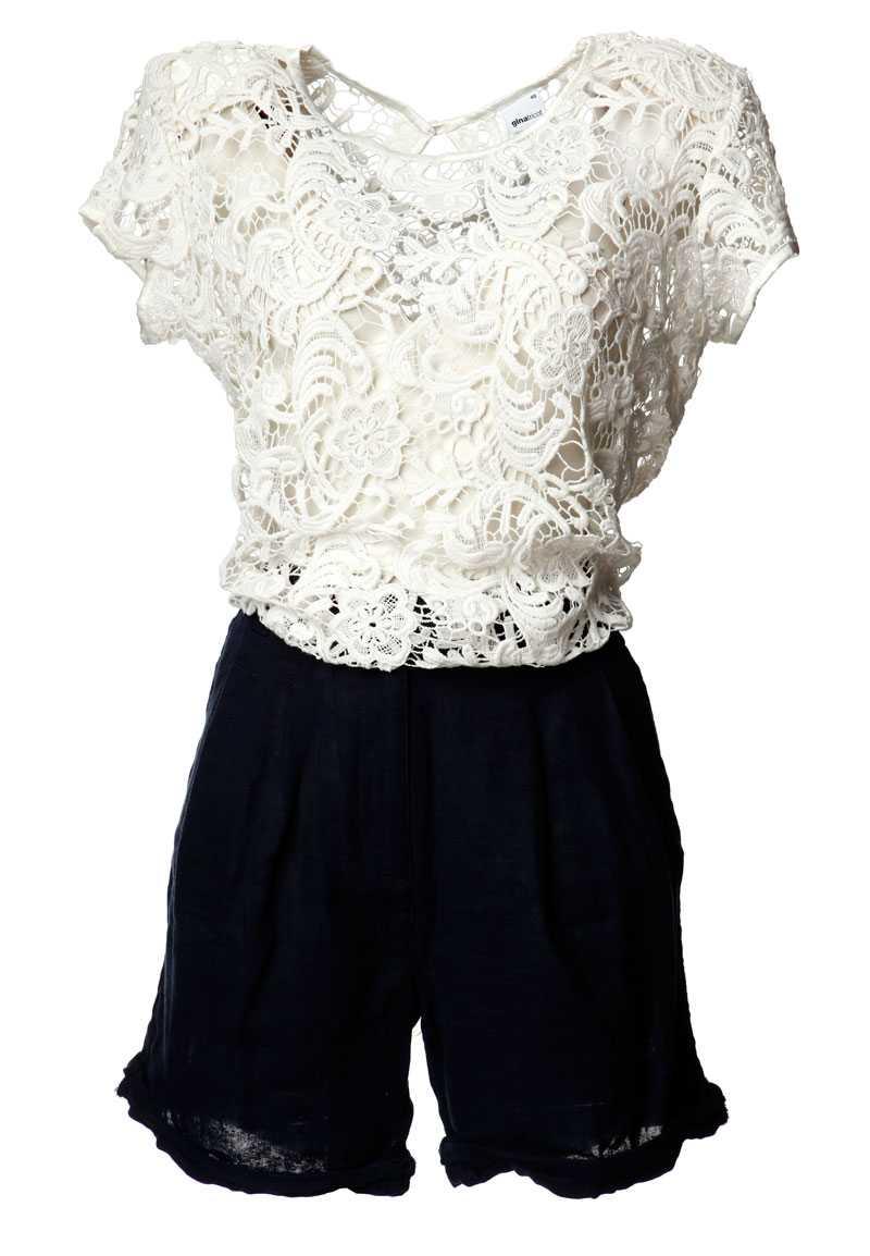 Topp, 399 kronor, Gina Tricot. Shorts, 499 kronor, Topshop.